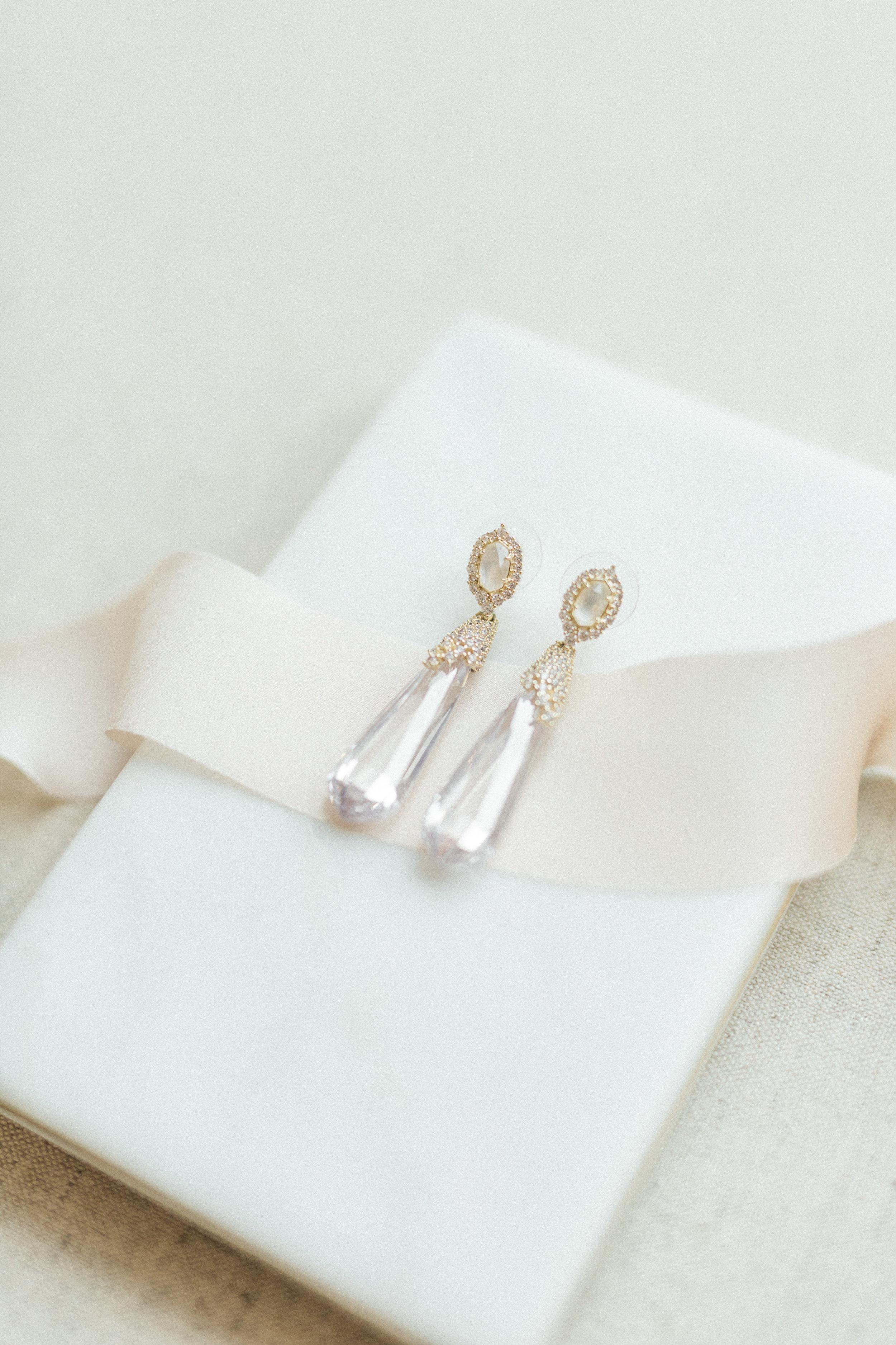 Wedding Day Jewelry Earrings from Kendra Scott   Fine Art European Inspired Wedding