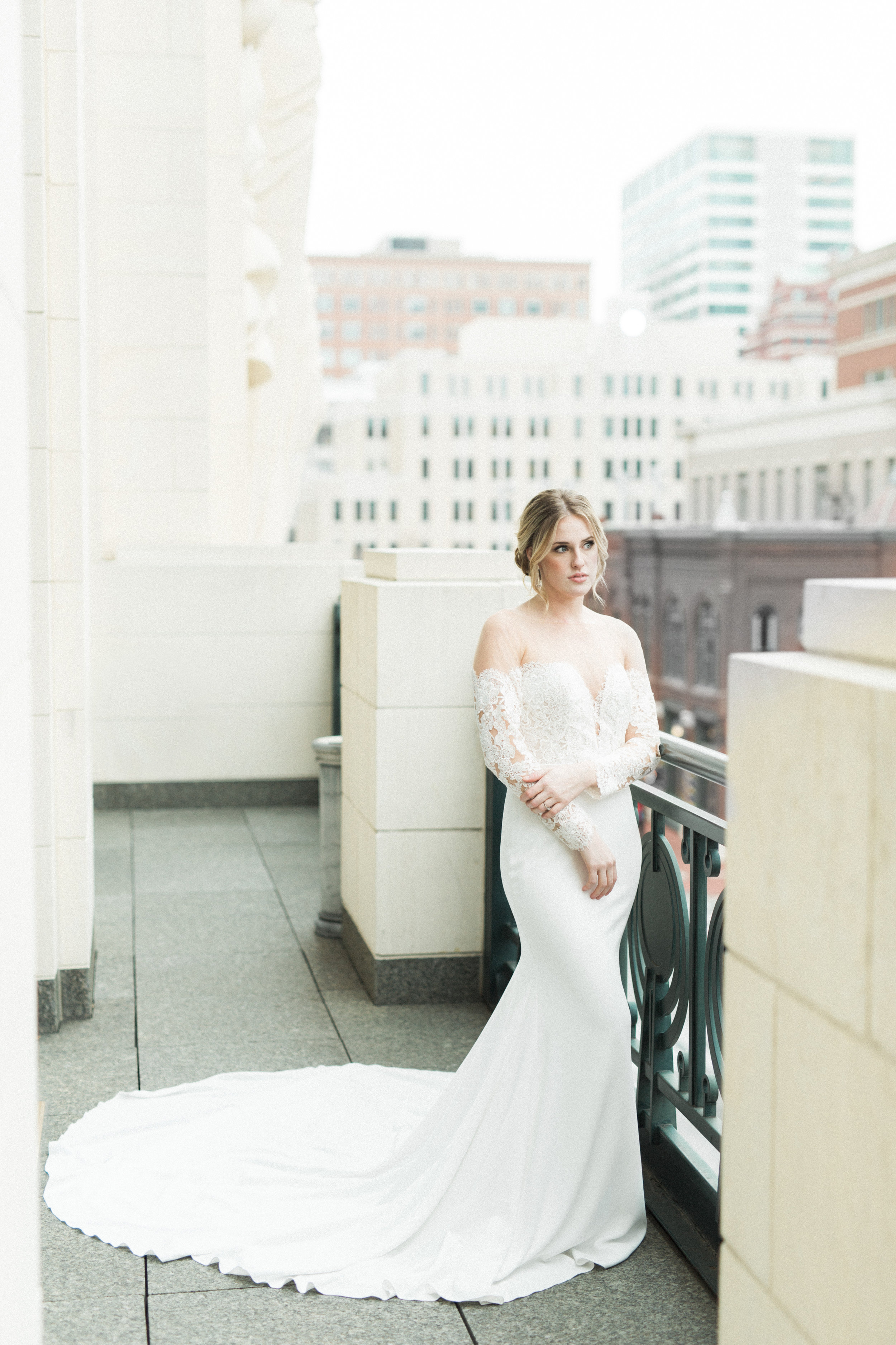 European Inspired Wedding in Downtown Fort Worth