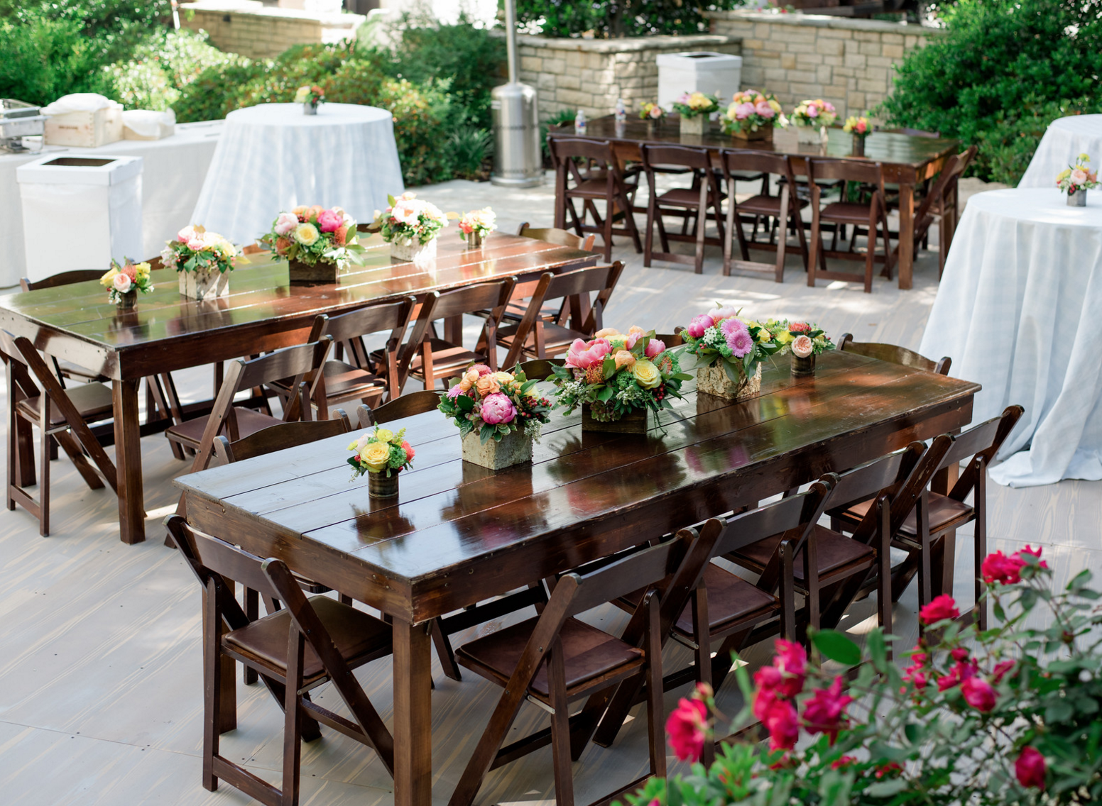 Backyard Wedding Party | Rustic Vibrant Southern Backyard BBQ in Fort Worth