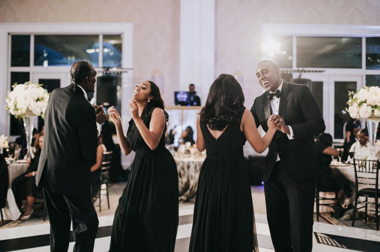 Modern Luxe Dallas Wedding Reception