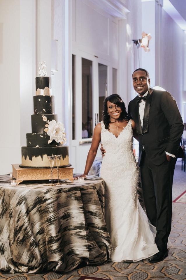 Modern Luxe Wedding Design | Downtown Dallas Wedding