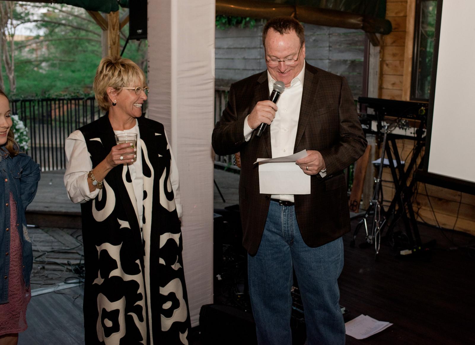 Best Man Speech | Rustic Outdoor Texas Rehearsal Dinner