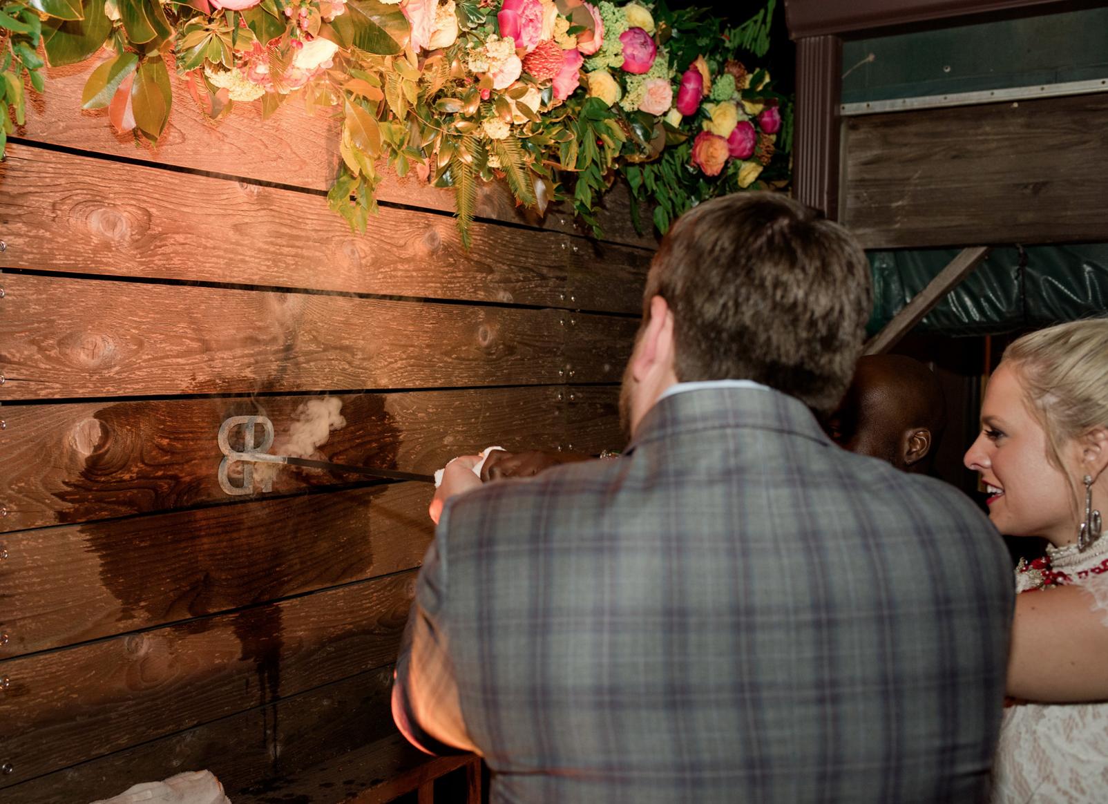 Personal Wedding Branding | Rustic Outdoor Texas Rehearsal Dinner