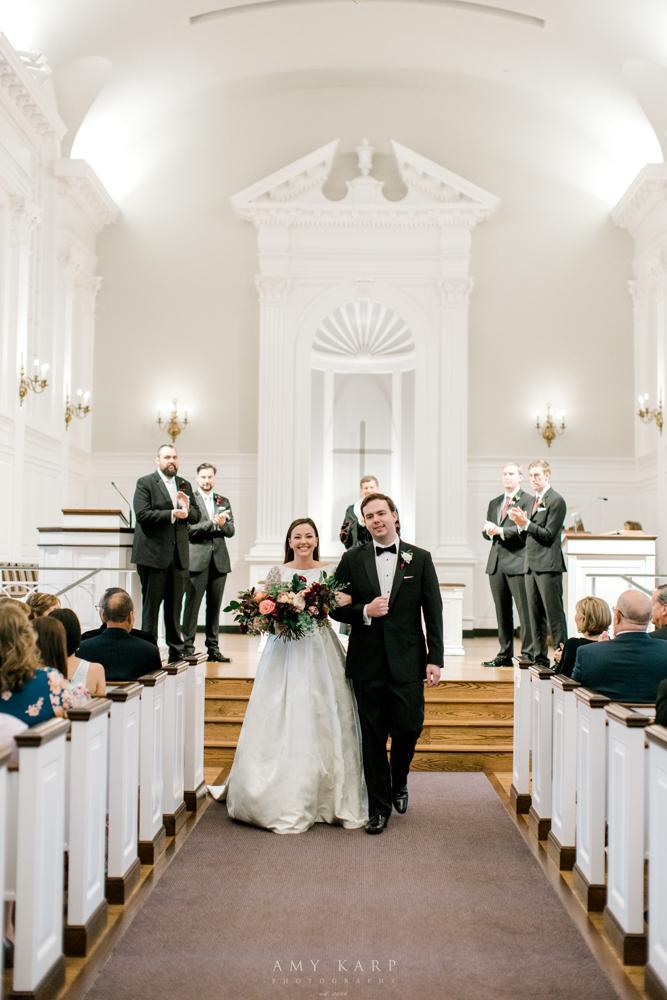 fort worth wedding ceremony