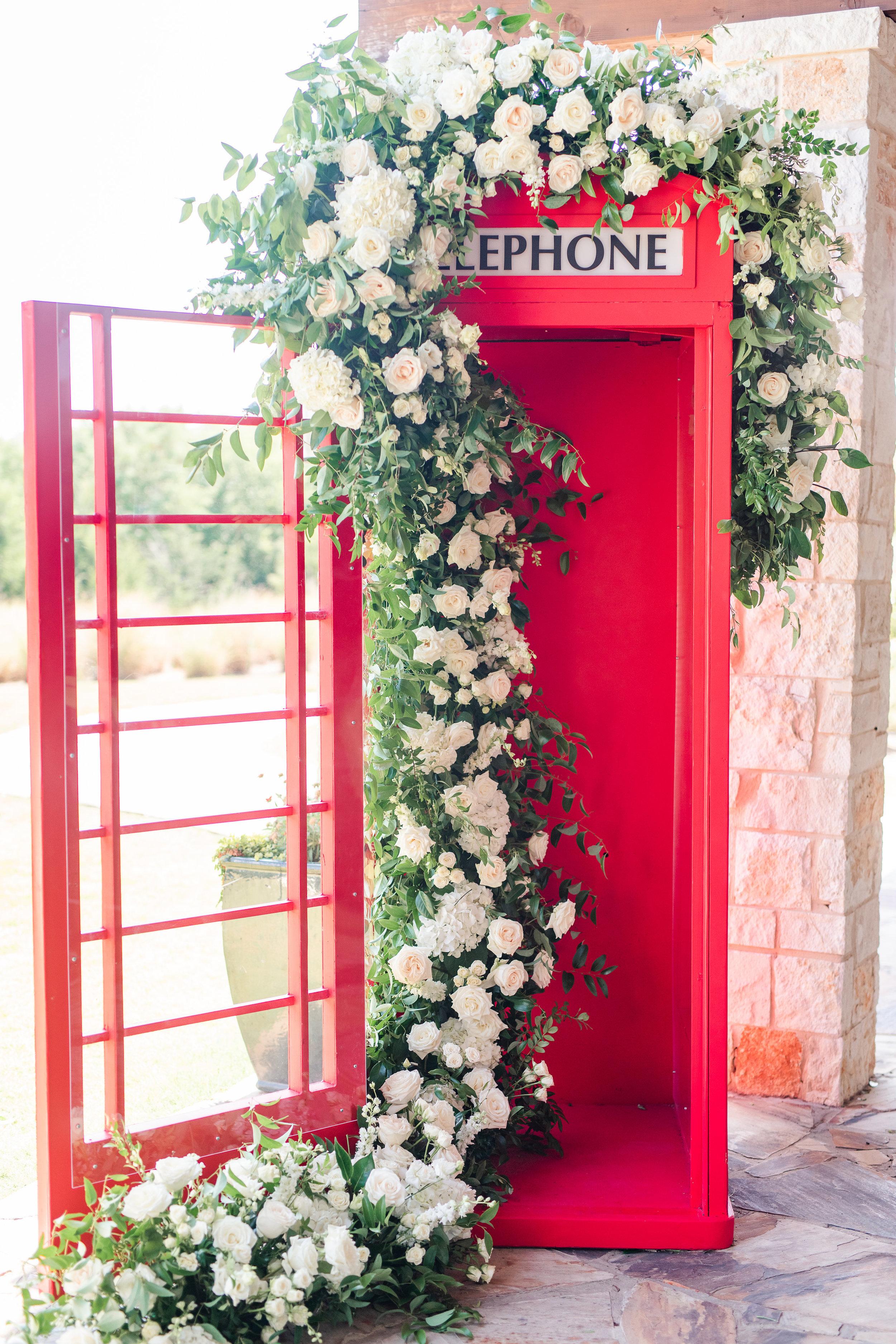 London Phone Booth wedding photobooth