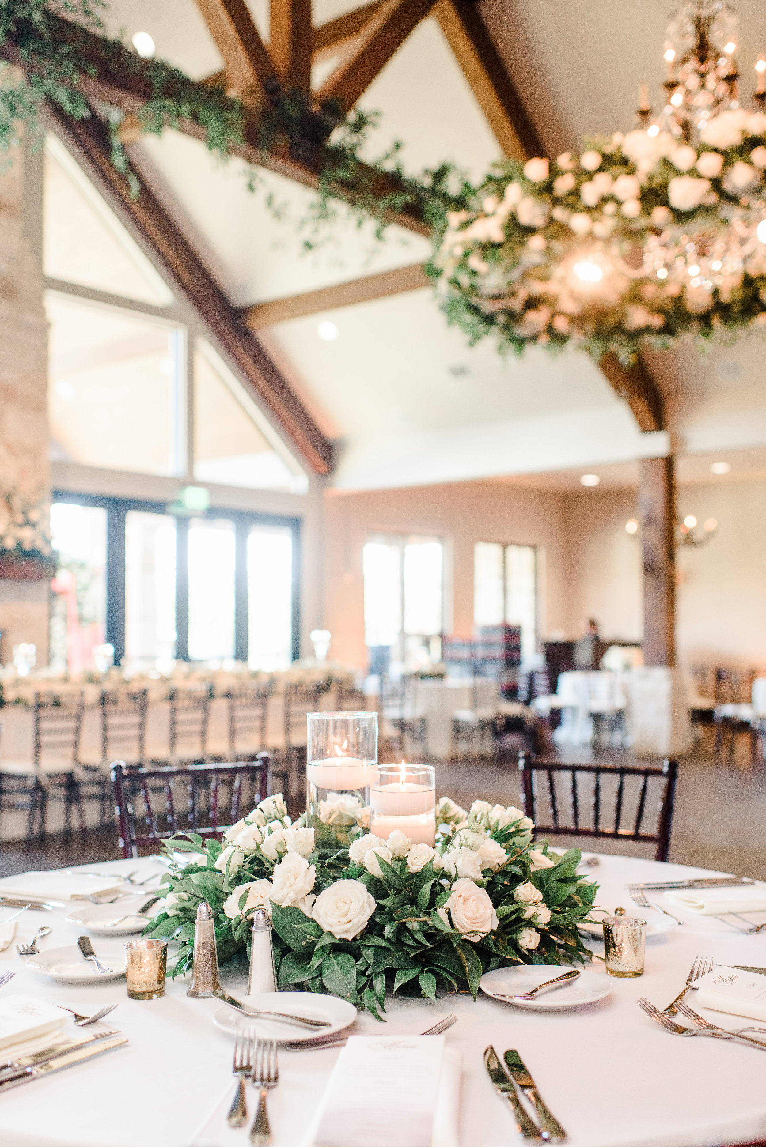 white and greenery organic wedding flowers