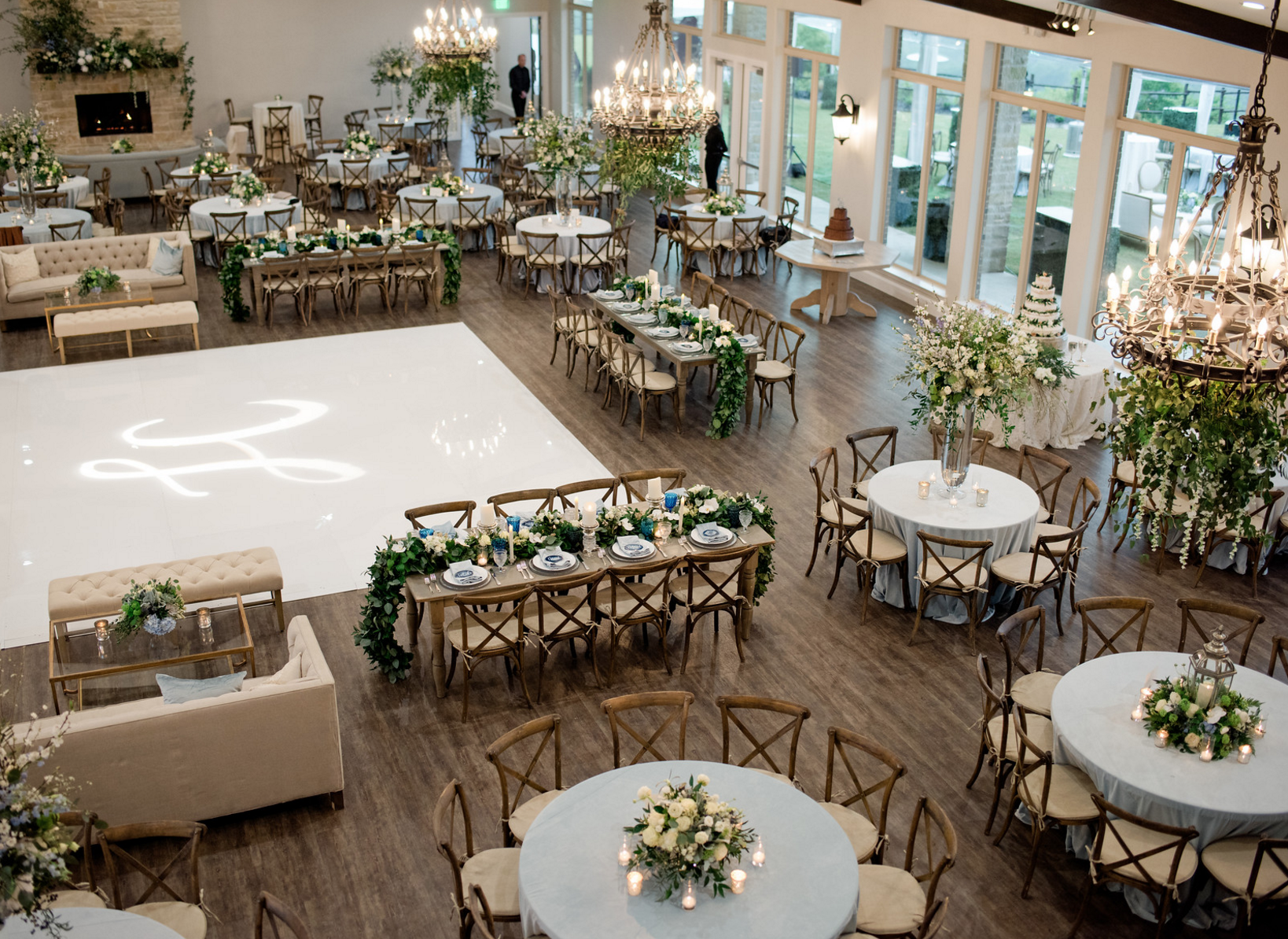 organic texas vineyard wedding