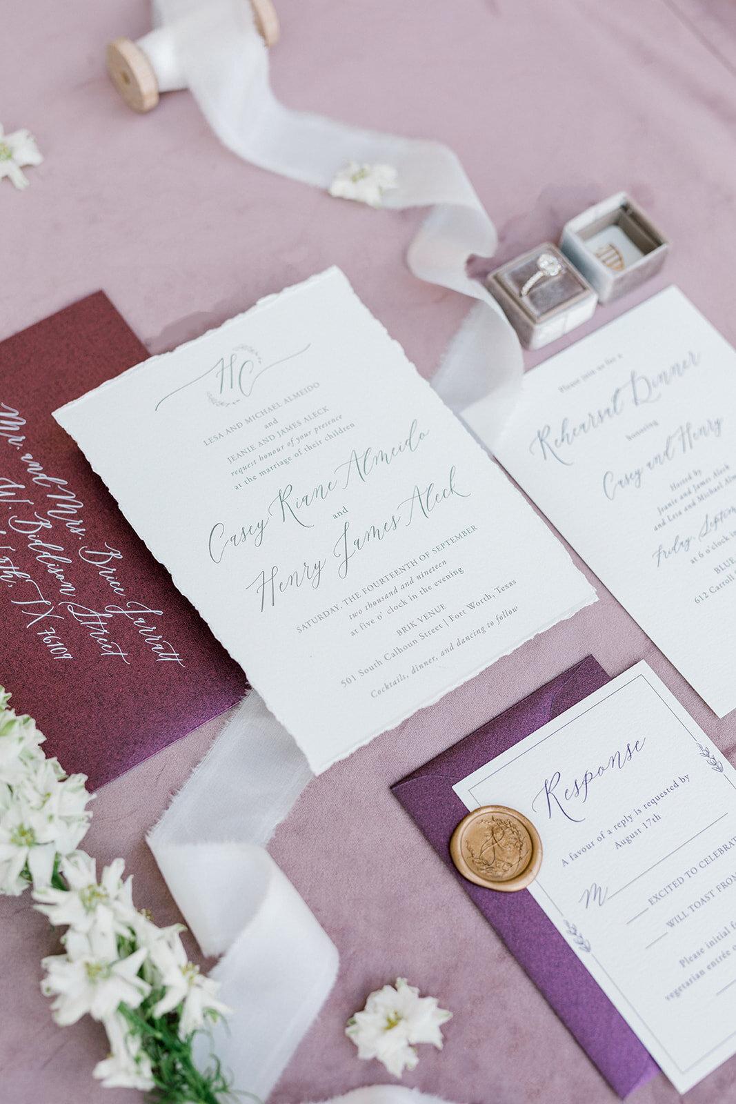 maroon and gold wedding invitations.jpg
