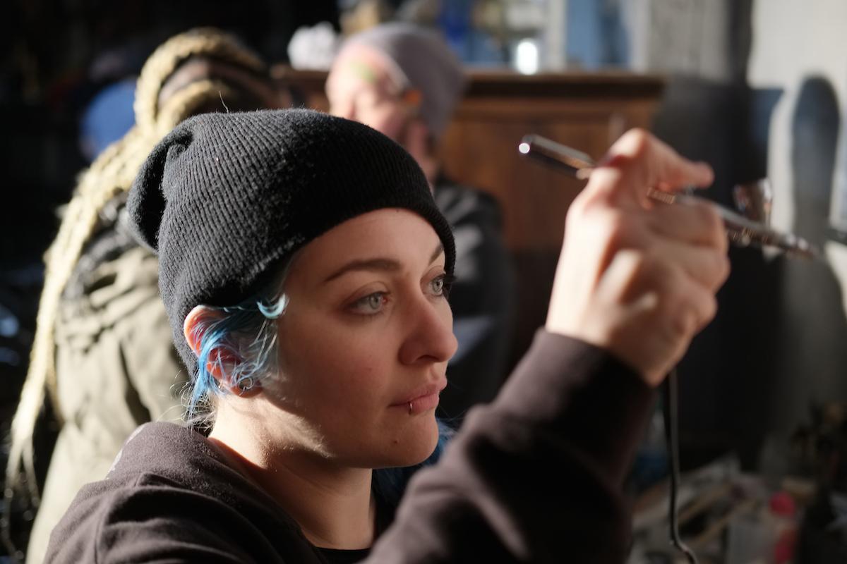 Megan Rickerson - Makeup Artist / Beer Corpse - @megoslegos