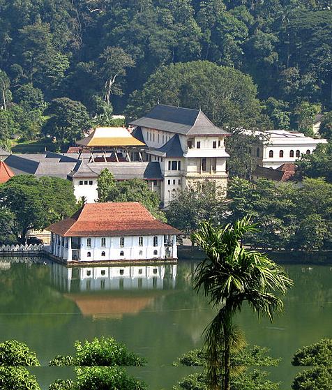 Travel via Kandy on train