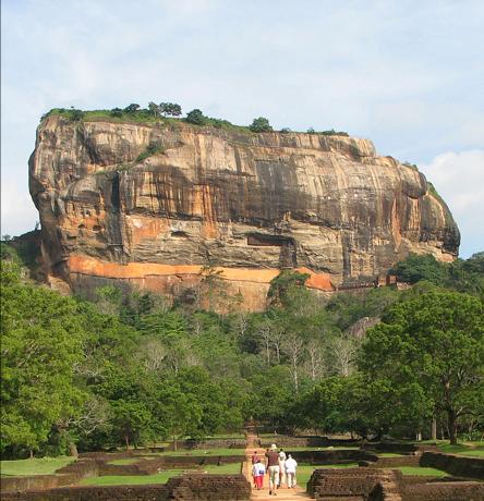 Sigiriya stop over on route to Amba Estate