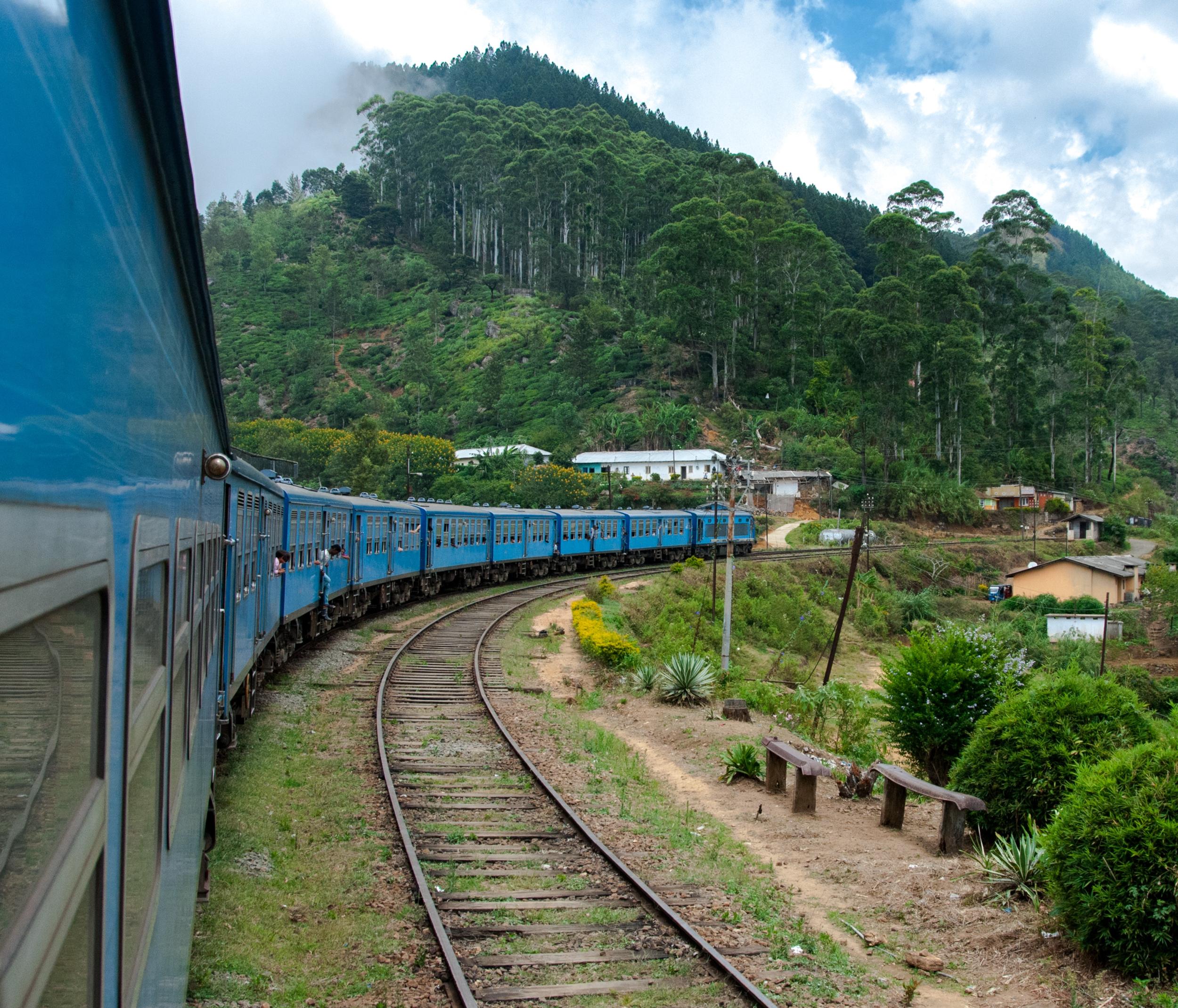 Sri Lanka train journey from Kandy to Ella.Photo by  Luuk Bolding