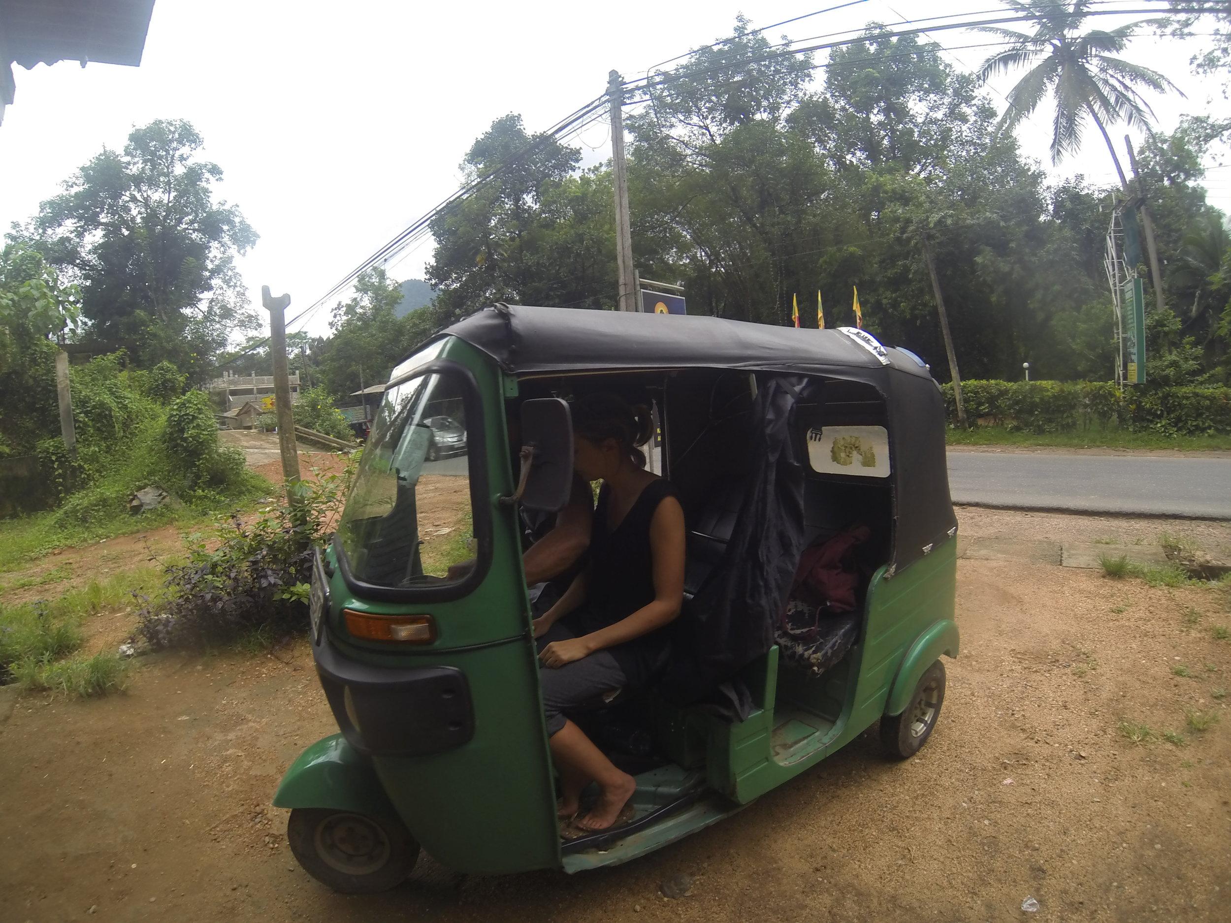 Sri Lanka by road