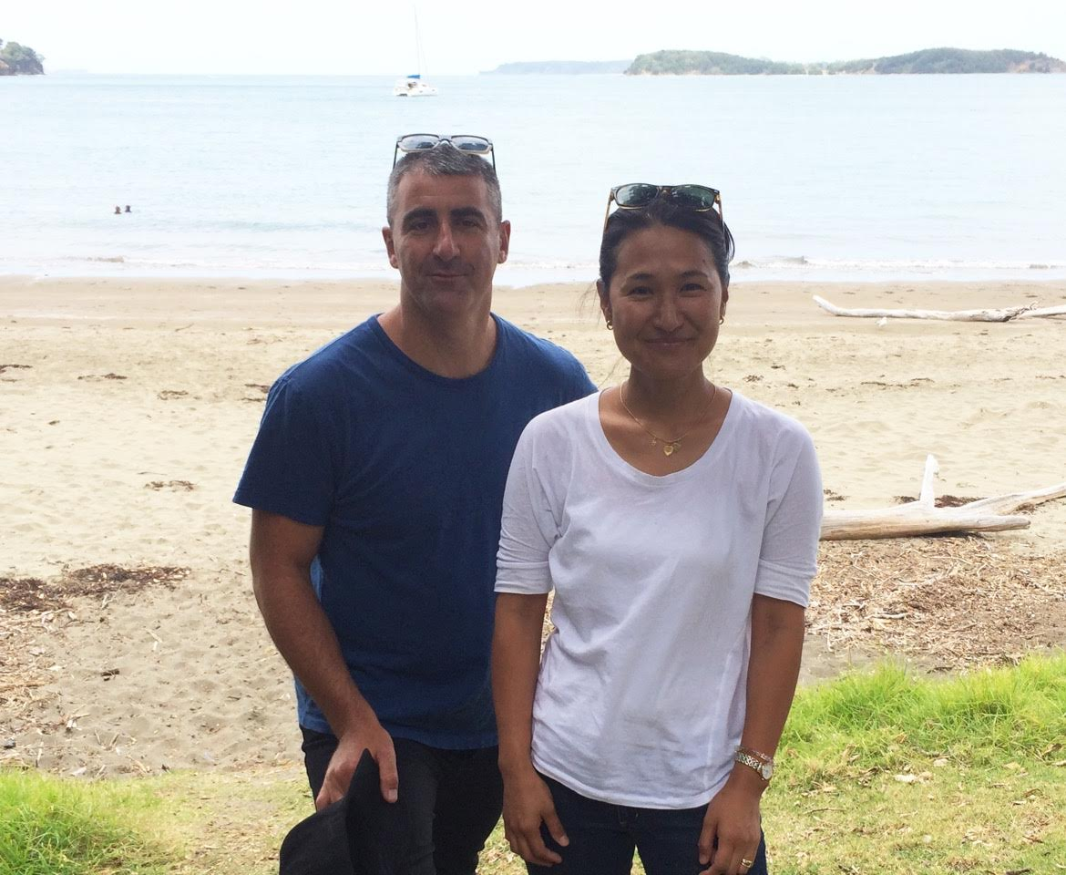 Akiko Davies and Jonas McLallen, Our pacific producers based in Sydney, australia