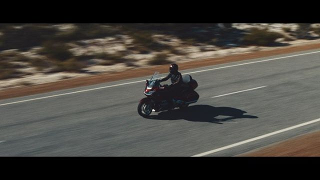HONDA: Road Warrior! ⚡️ Enjoy our latest project with the Sound On! You'll be happy you did! • #Blueskiesforever #infinityroad #westoz #perthmagic #filmreaktorglobal #honda