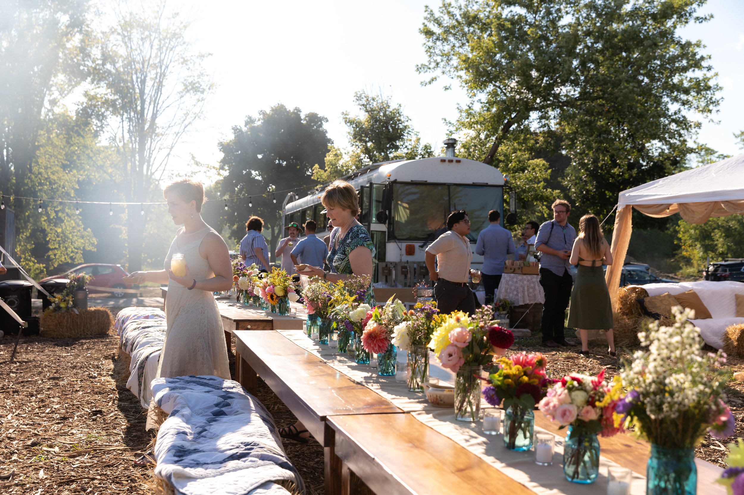 Corporate and Fundraising Events - Host your next summer event at a beautiful outdoor spaceSend an email to fisheyefarms@gmail.com for more info