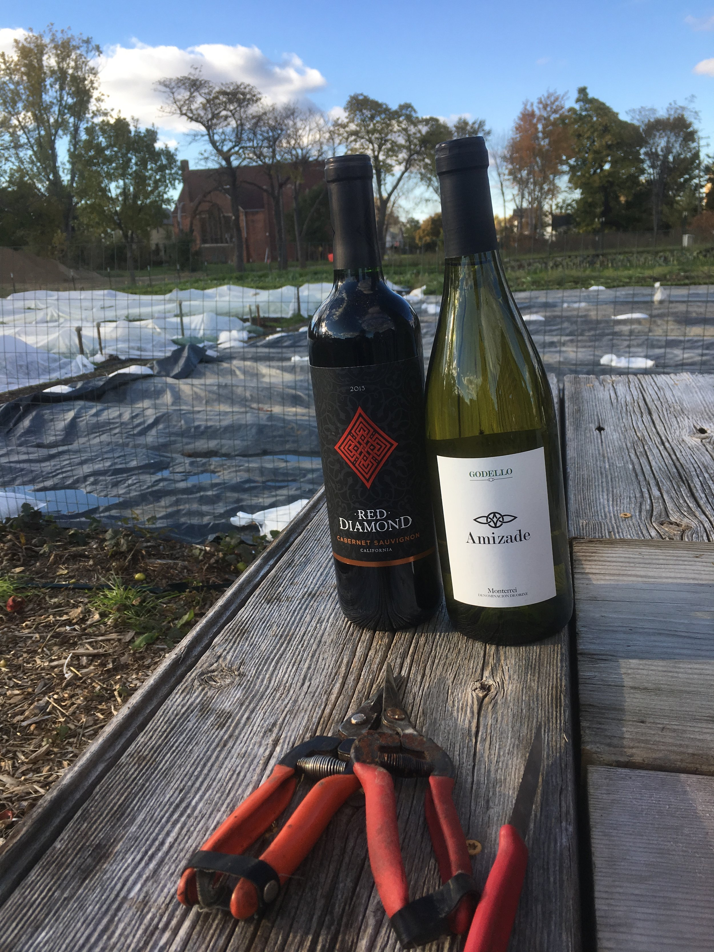 Wine and Weeding - Come visit the farm and help us keep up on weeding!Every Wednesday 6-8pm from May to OctoberCheck our social media for updates.Oh, and there's free wine!