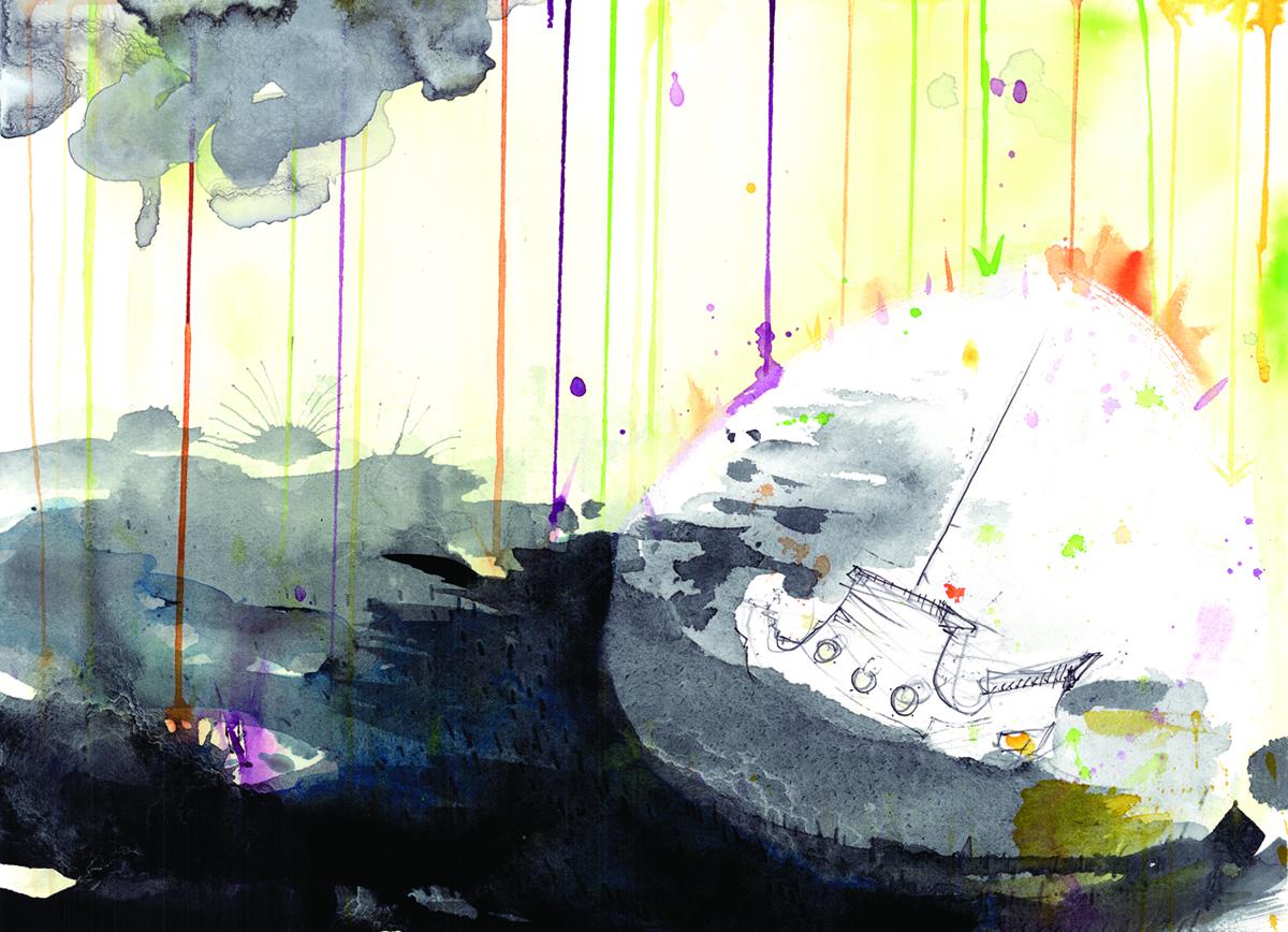 The Tracker in Acid Rain