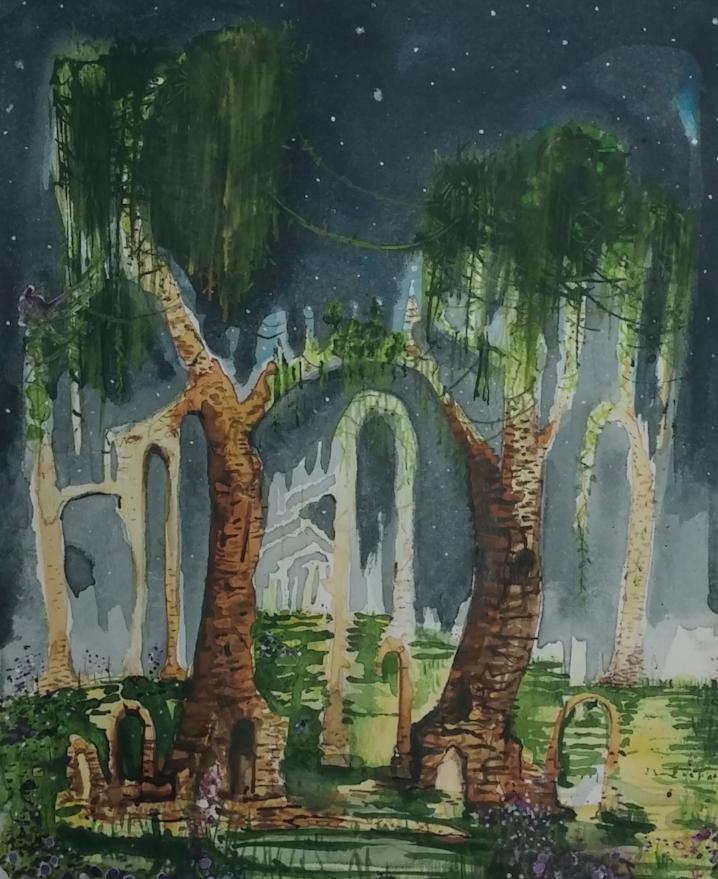 The Bridge / Between / Wreckage and / Rebirth