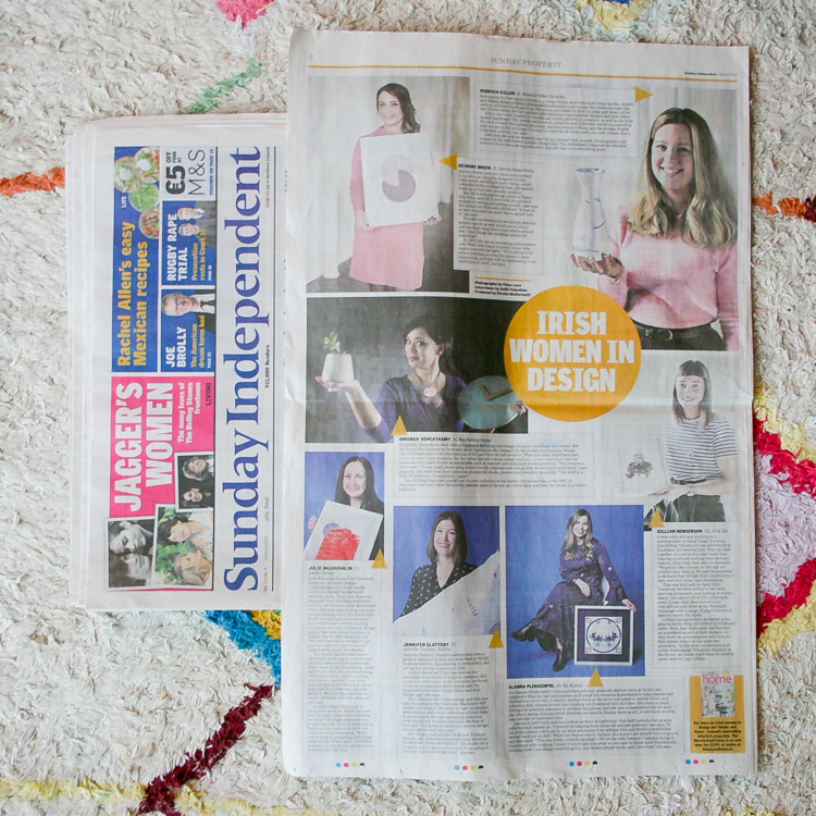 Sunday Independent, March 2018 - Irish Women In Design