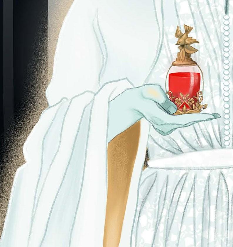 Detail of the  Priestess