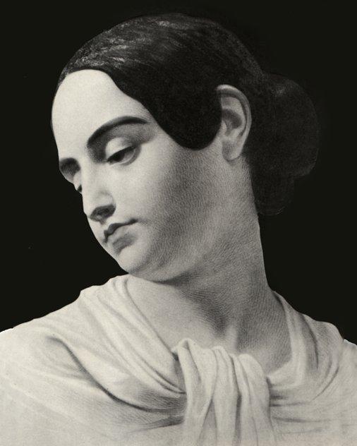 Portrait of Poe's wife Virginia