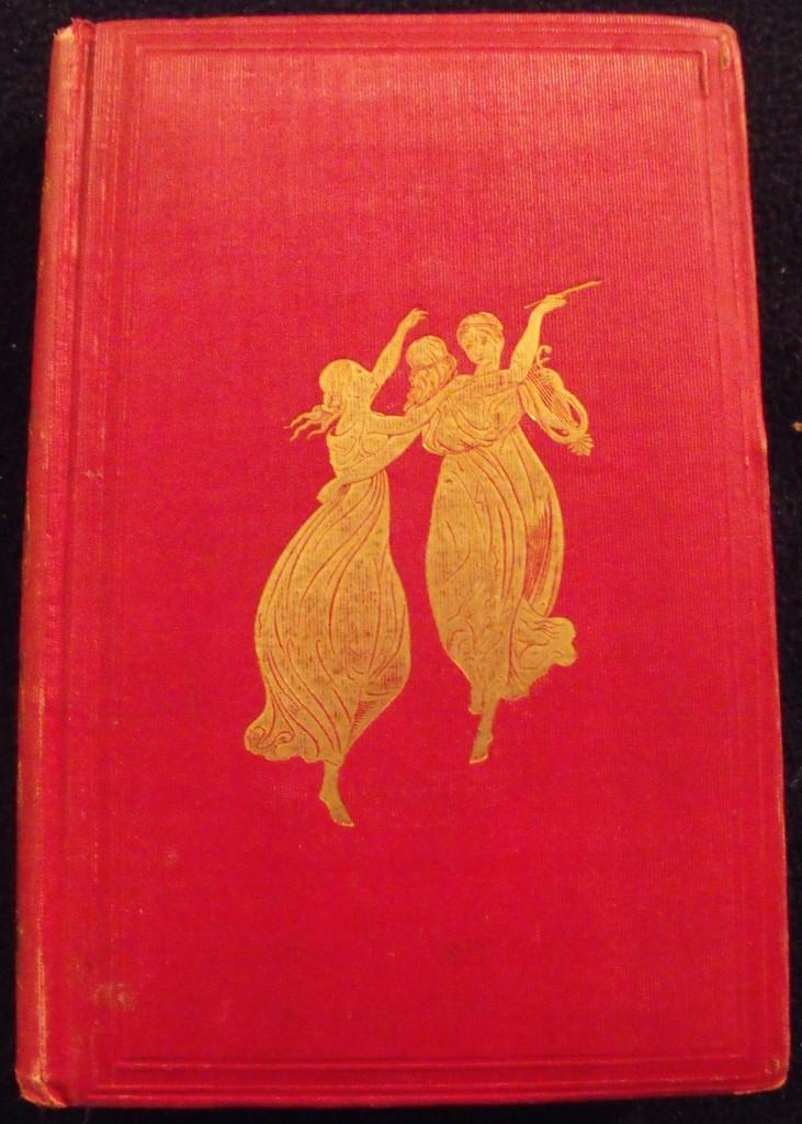 Poets of America: Illustrated by one of her Painters,  edited by John Keese and published by Pamela Colman Smith's grandfather Samuel Colman. Image courtesy of    AbeBooks.com
