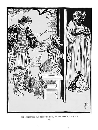 One of Smith's illustrations for  Annancy Stories.  For more click    here  .
