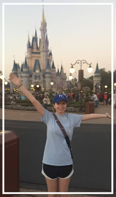 This was from her first day at Disney! We can't wait to see her.