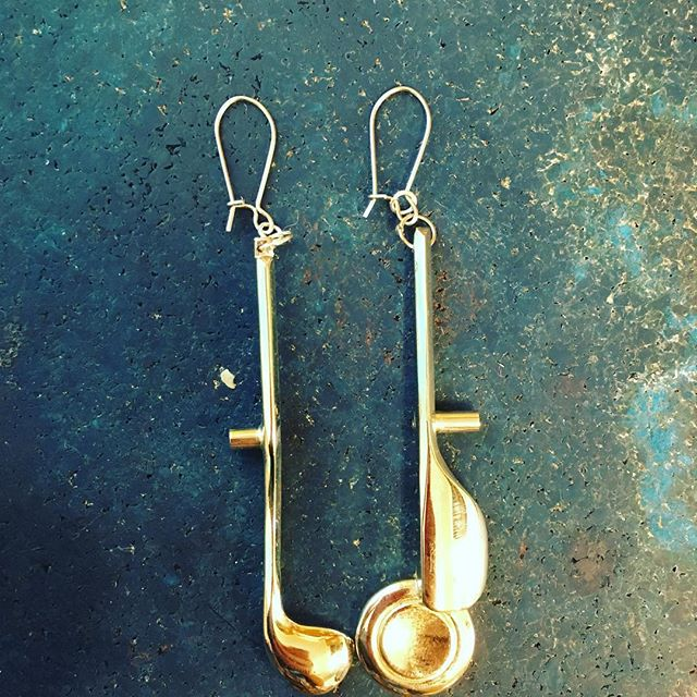 Flute Earrings!