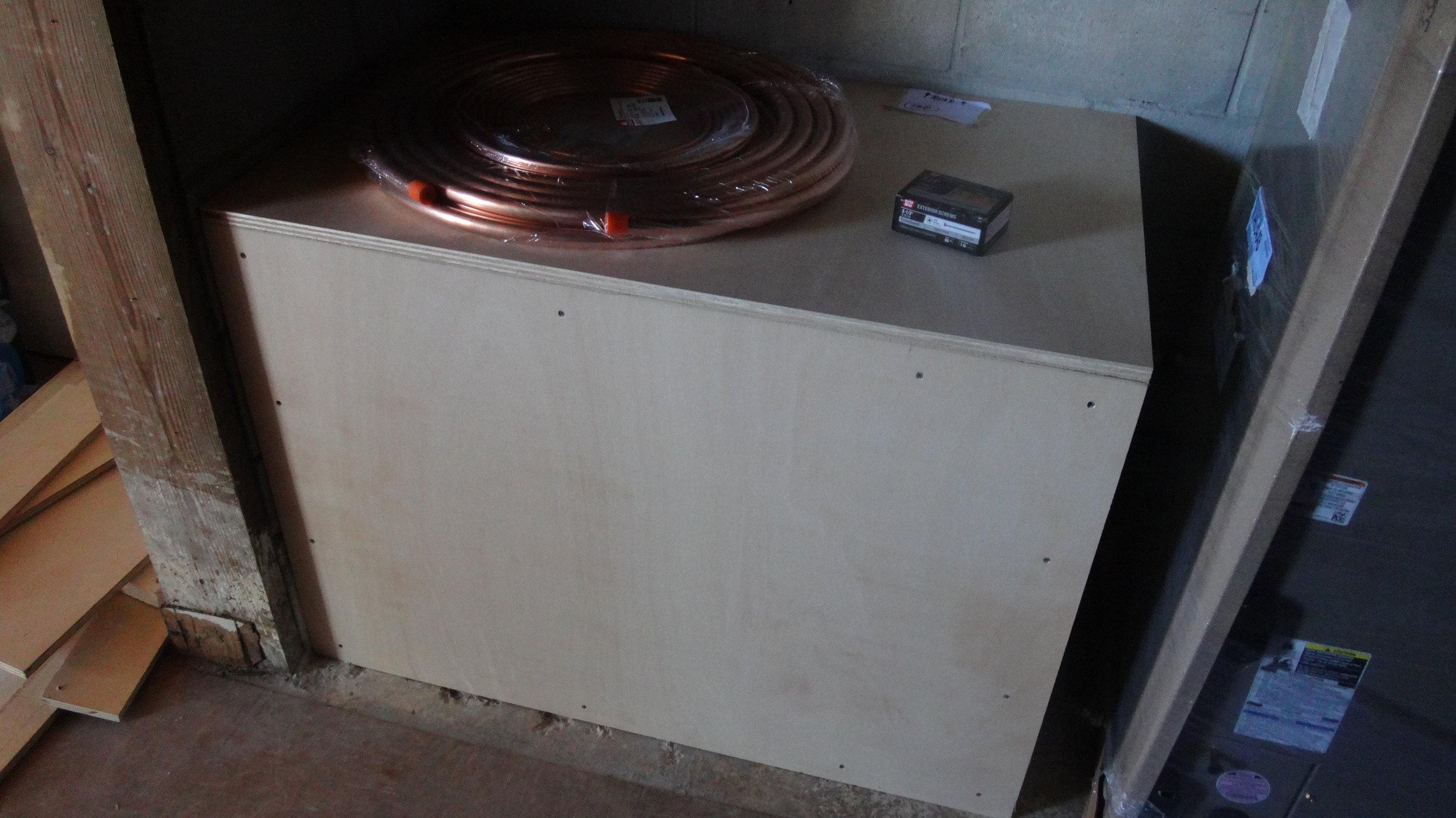 Custom Built Air Handler Filter Box