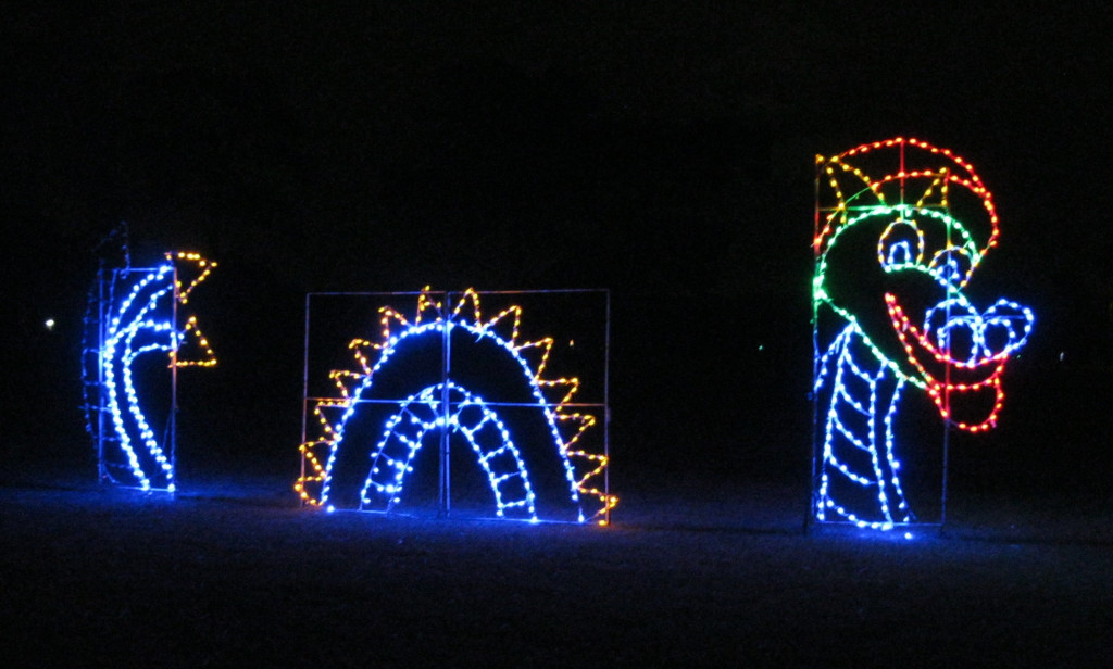 "A journey through the 1.1 mile park will take your breath away as your family experiences the wonders of the holiday season and the joy of unique displays. The climax of your journey will begin as you enter and pass through a 200 foot ""Light Tunnel"" exploding with light"