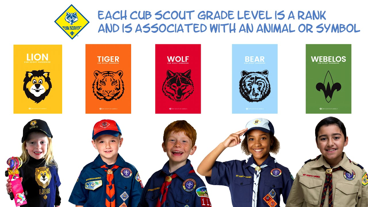 Our Cub Scout Pack is for Boys & Girls from K through 5th Grade.  For more info, go to www.pack337.com