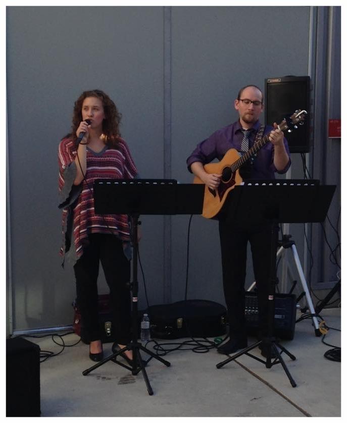 Briar Rose perform at the Seton Hill Visual Arts Center.
