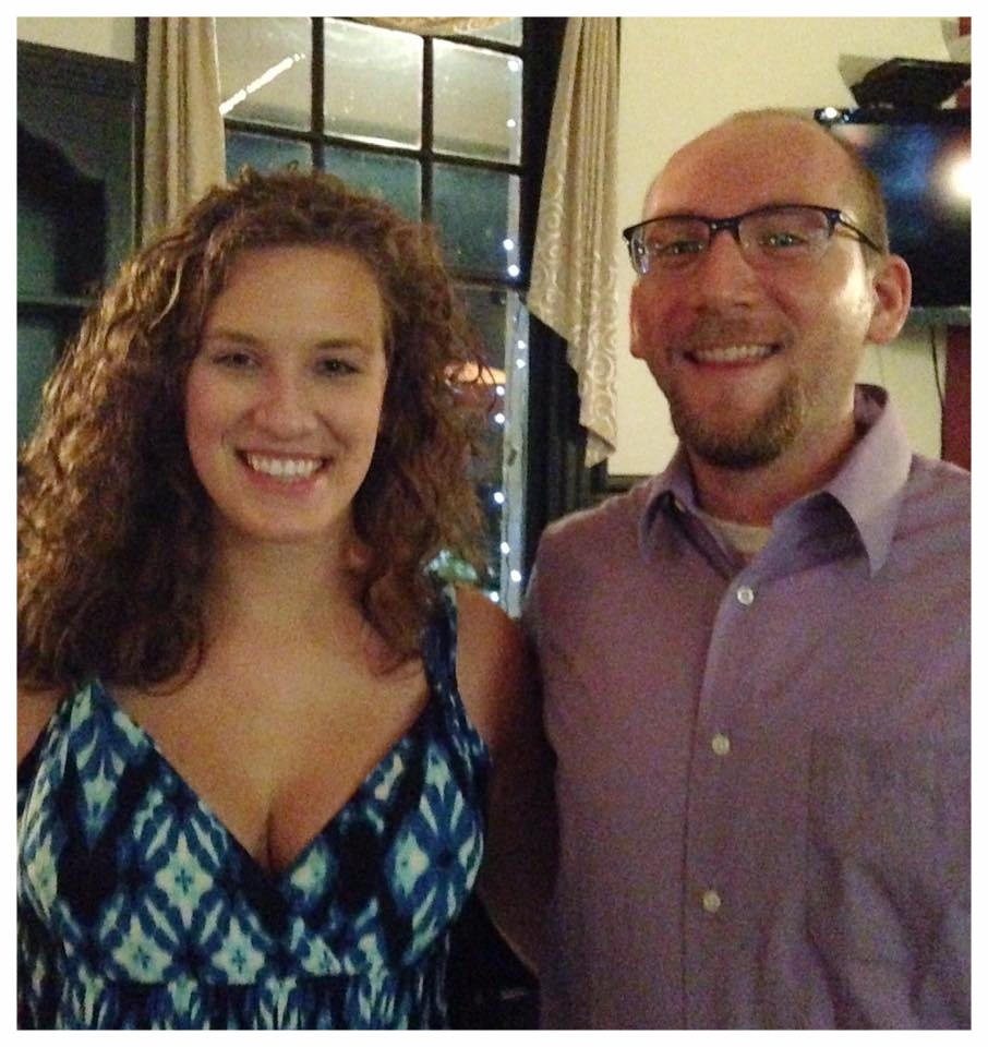 Chelsea and Brian after a summer performance in Greensburg, PA.