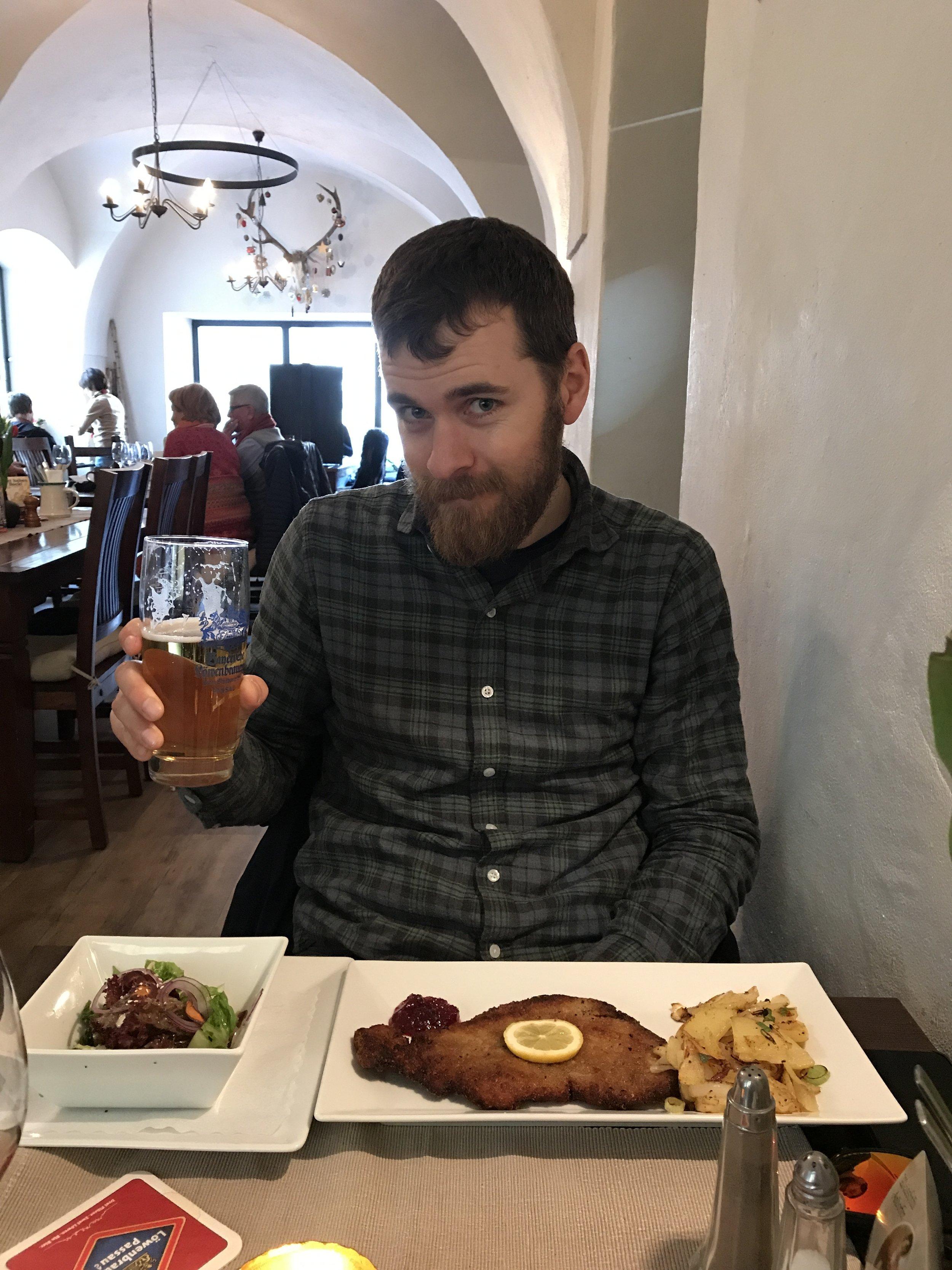 Traditional German fare in Passau