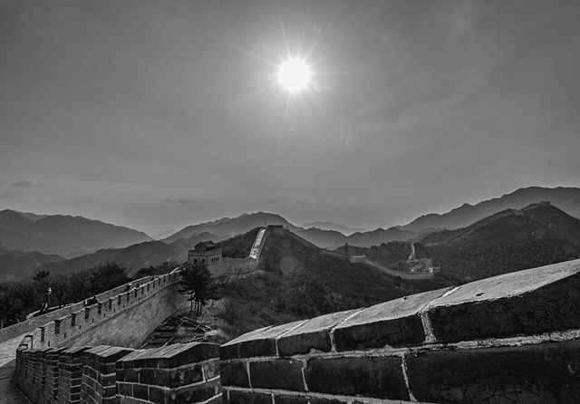 Seeing The Great Wall of China in person was insane. Between the intense grades and the incredible vastness, it took our breath away. Truly a marvel and should be on everyone's bucket list #whereveryouland