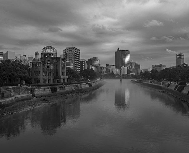Mighty sobering visiting the Hiroshima Peace Memorial and learning all about the horrific Atomic Bomb attacks from 1945. Hiroshima the city is fully rebuilt today but the A-Bomb dome (pictured on the left) stands as a constant reminder of what happened there nearly 73 years ago. #whereveryouland