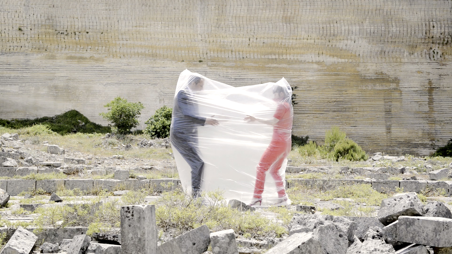 Credit: Luca Truffarelli  Performers:Michael Cooney Lucia Kickham -Freedom-to go!