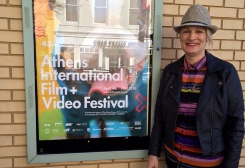 At Athens International Film and Video Festival,Ohio USA -2016