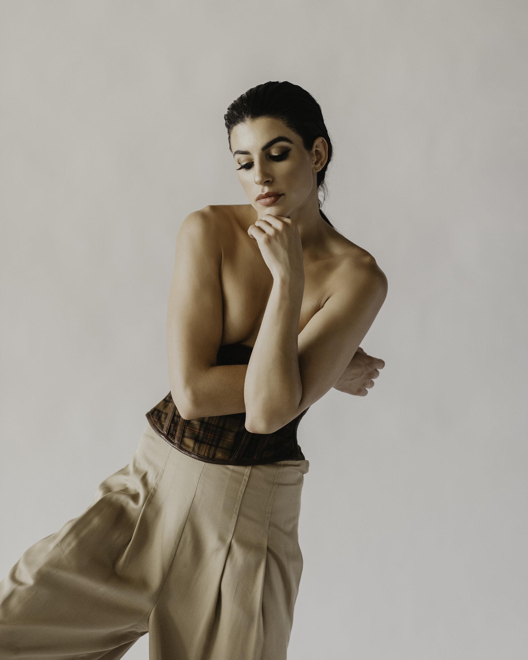 Photographer: Andrea Hutchinson Model: Alexandra Hepfinger (SEEN Model Management) Styling: Miranda McDonald