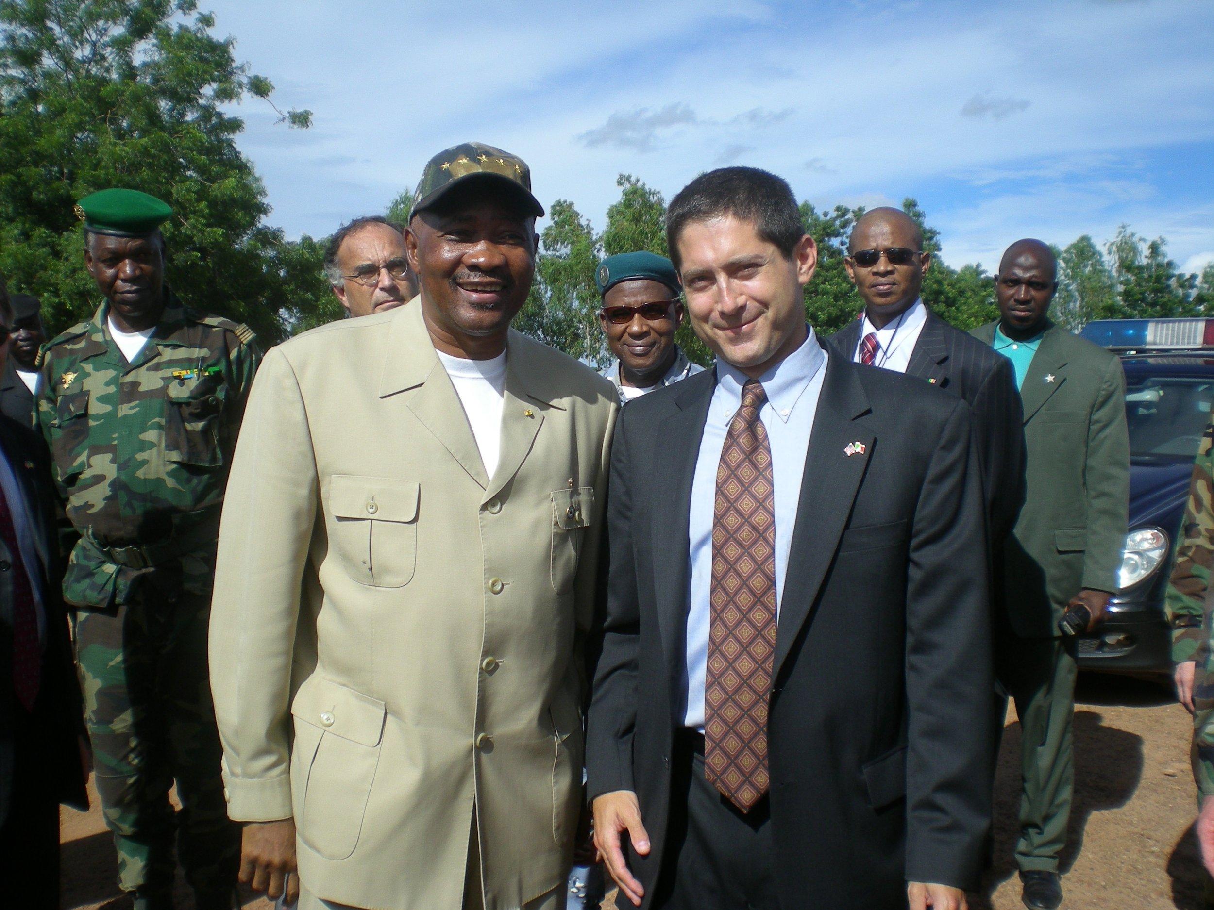 President Toure of Mali, 2007.
