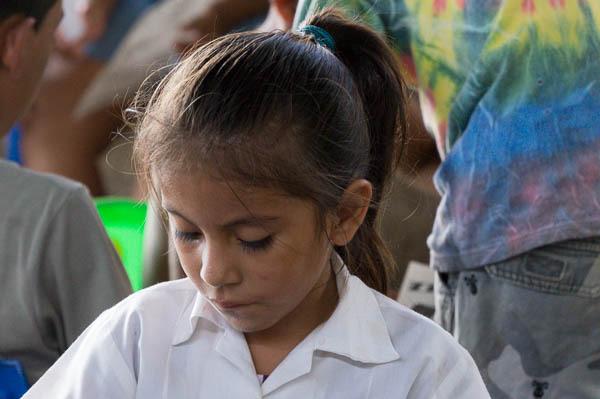 sharing the gospel through VBS in Cristo Rey