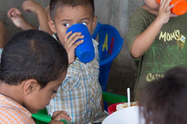 Cristo Rey discipleship and feeding program