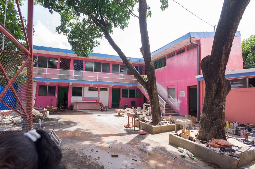 ministry building in San Judas, Managua