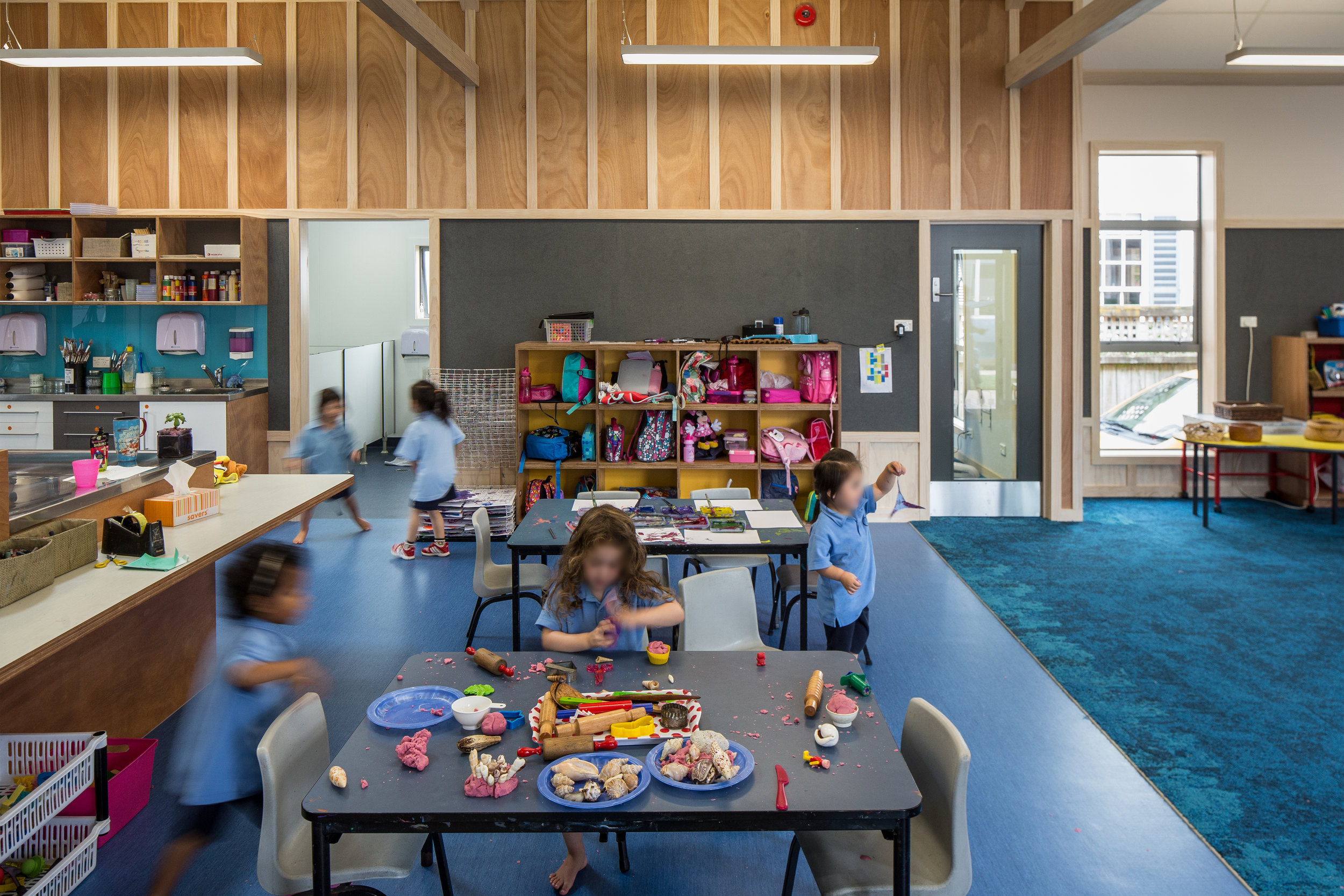 PRESCHOOL RECEIVES COMMENDATION   Our new Preschool facility at Queen Margaret College has been awarded a commendation by Learning Environments NZ