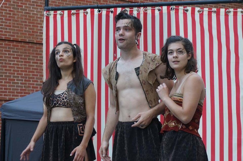 Puck in  A Midsummer Night's Dream  Saratoga Shakespeare Co. Photo Aaron Brummer.