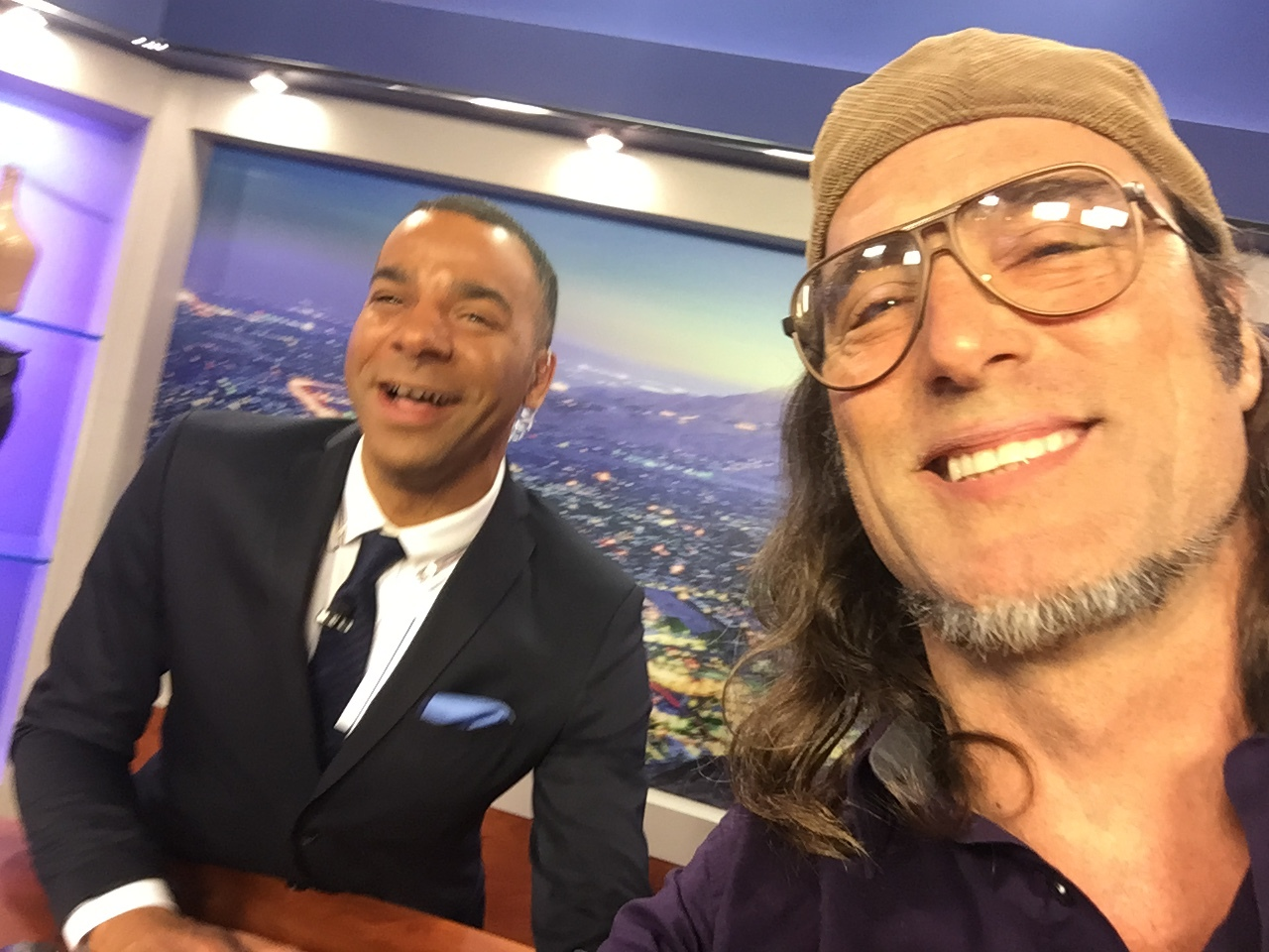 On NBC KMIR News Talking about writing,acting and directing at the Fighting Chance Studio's.