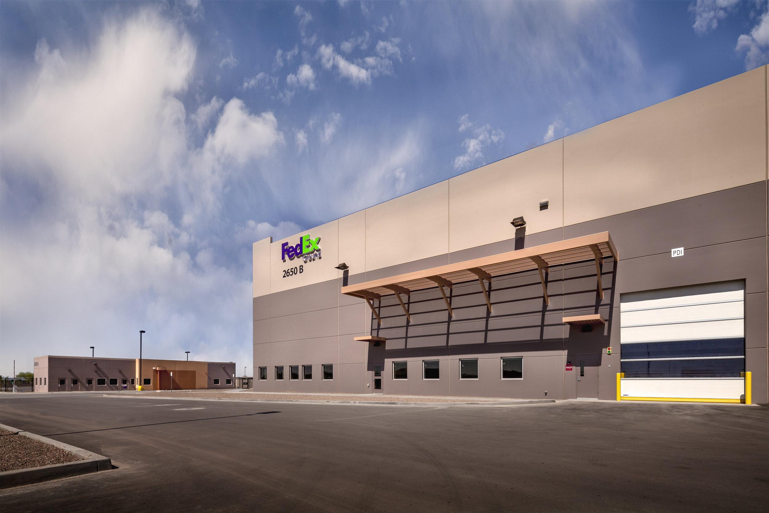 Fedex Ground Distribution Center Deutsch Architecture Group