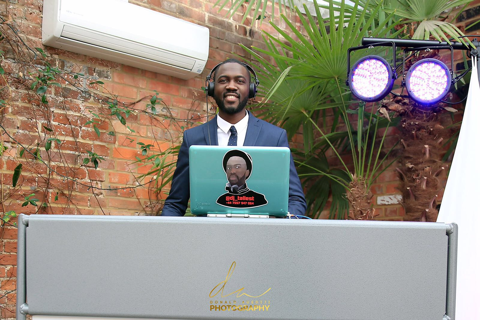 DJ Services - DJ Services for your event handled by an experienced 'Giant In The Game'. DJ Tallest will take your event to another level by providing excellence, experience and top-of-the-range sound equipment. Click below to find out how to make your next event phenomanol.